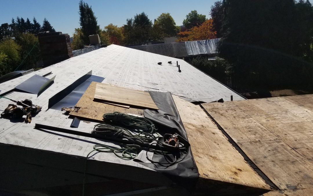 The Reroof Process