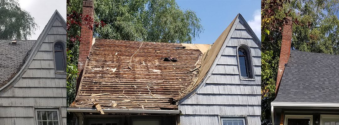 Composite Shingle Tear Off and Replace