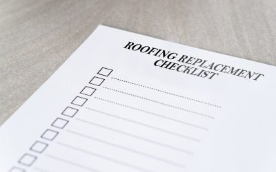 Roofing Replacement Checklist