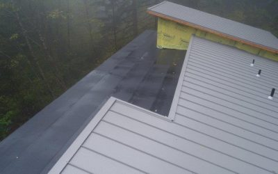 Metal Roof Tear Off and Installation
